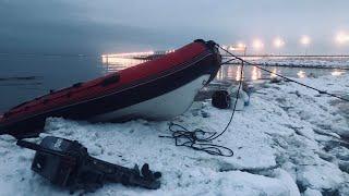 Рыбалка Зимой 2021 Ловля Корюшки с Лодки Финский Залив
