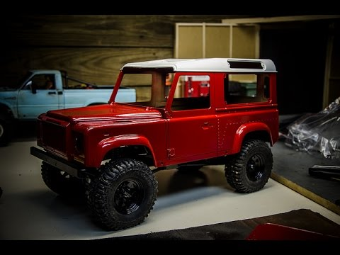RC4wd Gelande 2 D90 Paint and Body Part 1