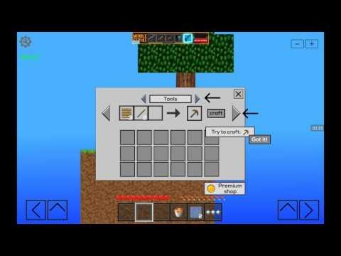 2D Minecraft | skyland #1