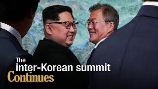 Live: The inter-Korean summit continues关注朝韩首脑平壤会晤