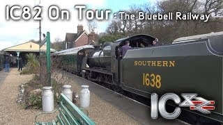 A Day At The Bluebell Railway