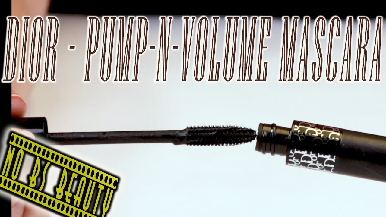 2ddba575027 Dior Diorshow Pump'N'Volume Mascara Review - YouTube
