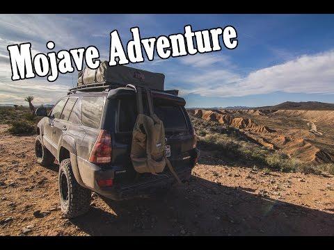 MOJAVE DESERT ADVENTURE - 4RUNNER OVERLANDING