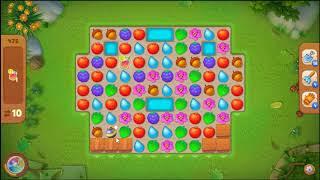 Gardenscapes Level 475 No Booster 🌲  l MiniGames