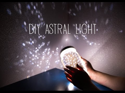 DIY Astral Light (Starlight Projector) - YouTube