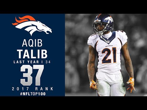 #37: Aqib Talib (CB, Broncos) | Top 100 Players of 2017 | NFL