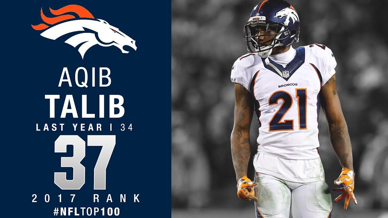 37 Aqib Talib CB Broncos Top 100 Players of 2017