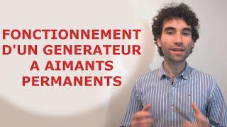 Comment fonctionne un générateur à aimants permanents et étapes de fabrication