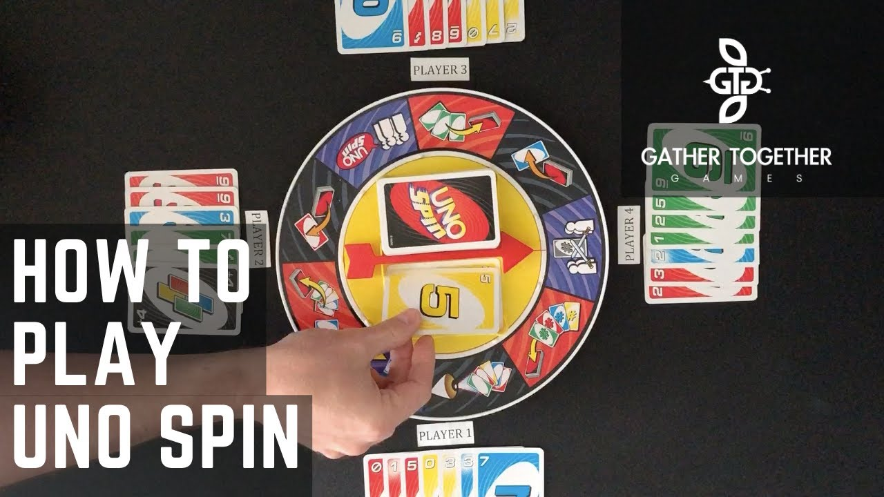 How To Play Uno Spin