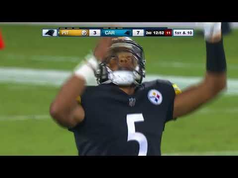 Joshua Dobbs throws 58 yard touchdown pass to Justin Hunter!