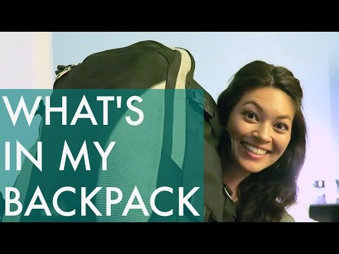 WHAT I PACKED // Backpacking Southeast Asia