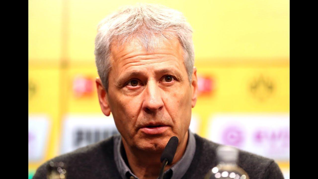 BVB-Pressekonferenz mit Favre und Schwarz