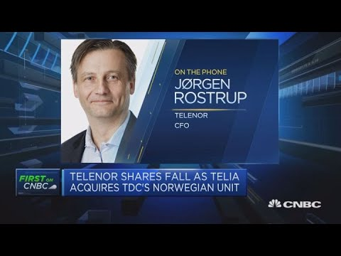 Telenor CFO: Norway's telecoms industry is consolidating | Street Signs Europe