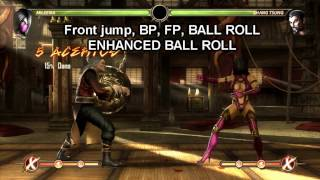 Mortal Kombat Komplete Edition: BASIC COMBOS: Mileena (PC)