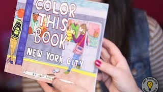 """""""Color this Book: New York City"""" by Abbi Jacobson"""