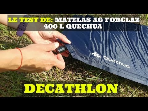 Le Test De Matelas Autogonflant Forclaz 400 L Quechua Decathlon Youtube
