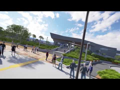 Bayswater Station 3D flythrough