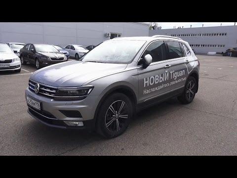2017 Volkswagen Tiguan 2.0 TSI DSG 4Motion Highline. Start Up, Engine, and In Depth Tour.
