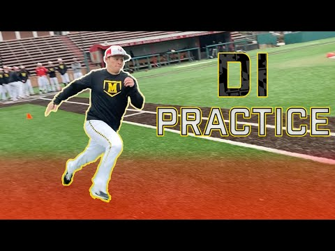 What Happens at a College Baseball Practice? Inside Maryland Baseball