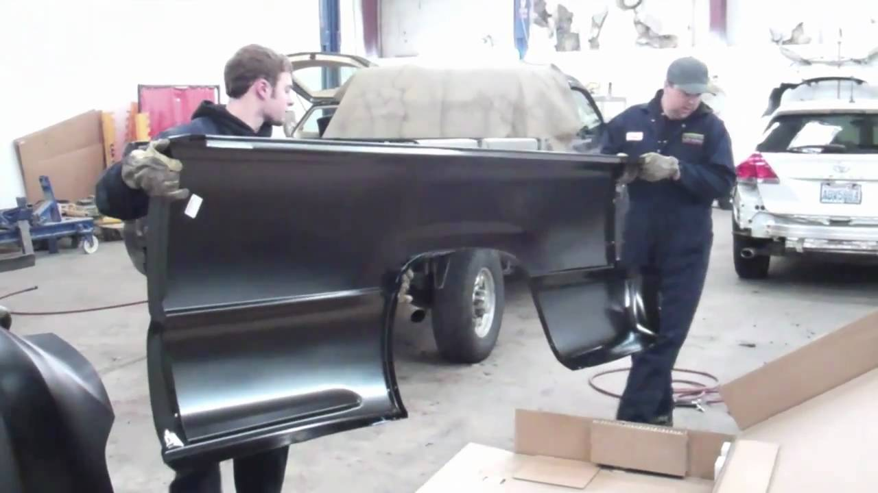hight resolution of evergreen autoworks pick up truck bedside replacement youtubeevergreen autoworks pick up truck bedside replacement