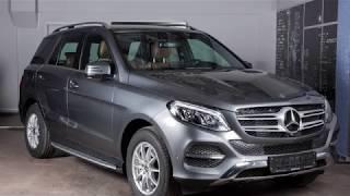 Mercedes-Benz GLE I (W166) 350 d (Серый Селенит M)