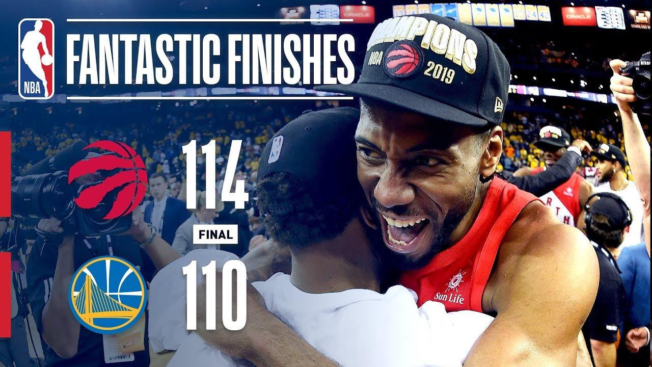 Who won nba finals 2019