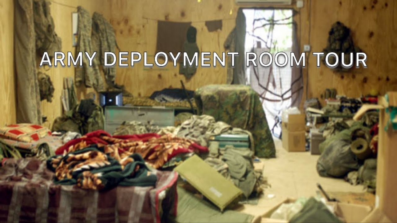 Deployment Barracks Room Tour | US ARMY