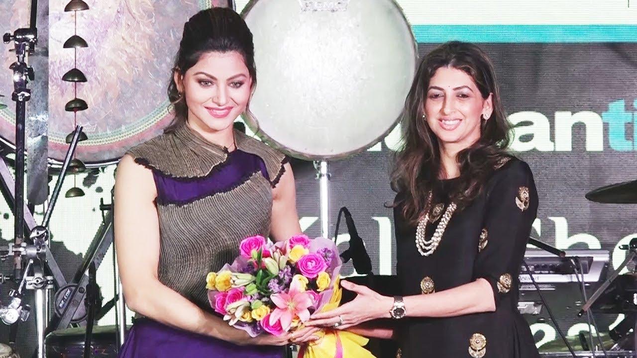 Gorgeous Urvashi Rautela At Kala Ghoda Festival | Hate Story 4 Promotion