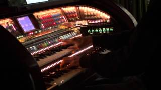 "Walter Hammel  Plays Nostalgic ""Home -When Shadows Fall"" on the Lowrey Prestige Virtual Orchestra"
