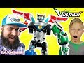 VOLTRON Legendary Defender Full Set Funny Video with Combining Lions to form VOLTRON Full Size