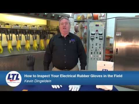 How To Inspect Your Electrical Rubber Gloves In The Field