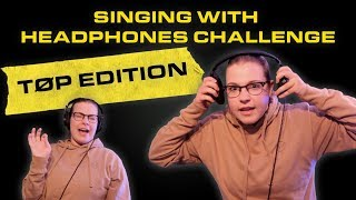 SINGING WITH NOISE CANCELLING HEADPHONES - TWENTY ONE PILOTS EDITION