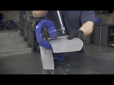 Cut Metal With Ease! Rotary Metal Shear w/ Ratcheting Handle - Eastwood