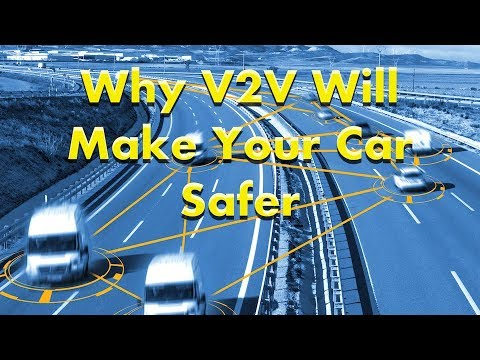 What's V2V? - And Why Will It Make Your Car Safer?