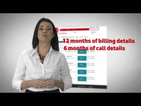 My Vodafone | Bill Pay View my bill