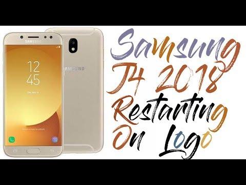 Samsung J4 2018 Restarting On Logo- Solved