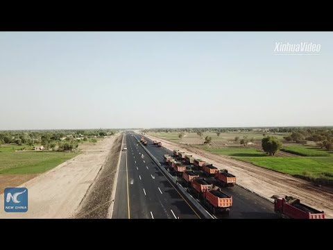 Chinese-built motorway employs nearly 10000 in Pakistan