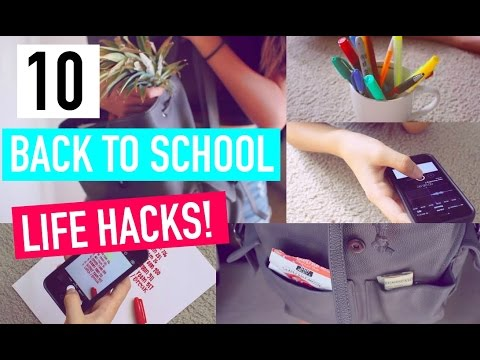 10 life hacks for back to school giveaway youtube. Black Bedroom Furniture Sets. Home Design Ideas
