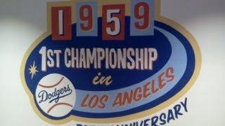 LA DODGERS WIN THE 1959 World Series