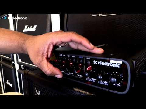 Eric Smith (Rihanna / Justin Timberlake) presents TC Electronic's RH750 Bass amp