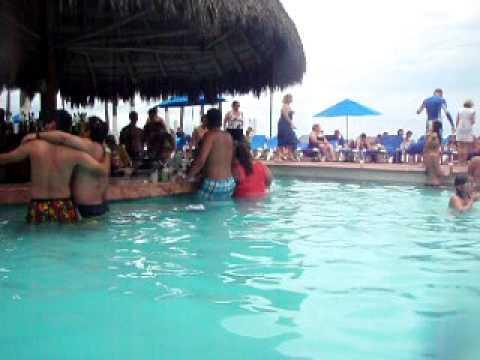 Swim Up Bar Dreams Puerto Vallarta Mexico 2009