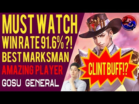 The Best Marksman Player Gosu General Live (Mobile Legends)
