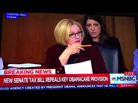 Senators Claire McCaskill
