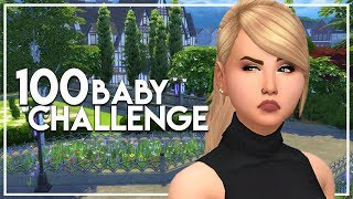 DELIRIOUSLY TIRED // The Sims 4: 100 Baby Challenge #125