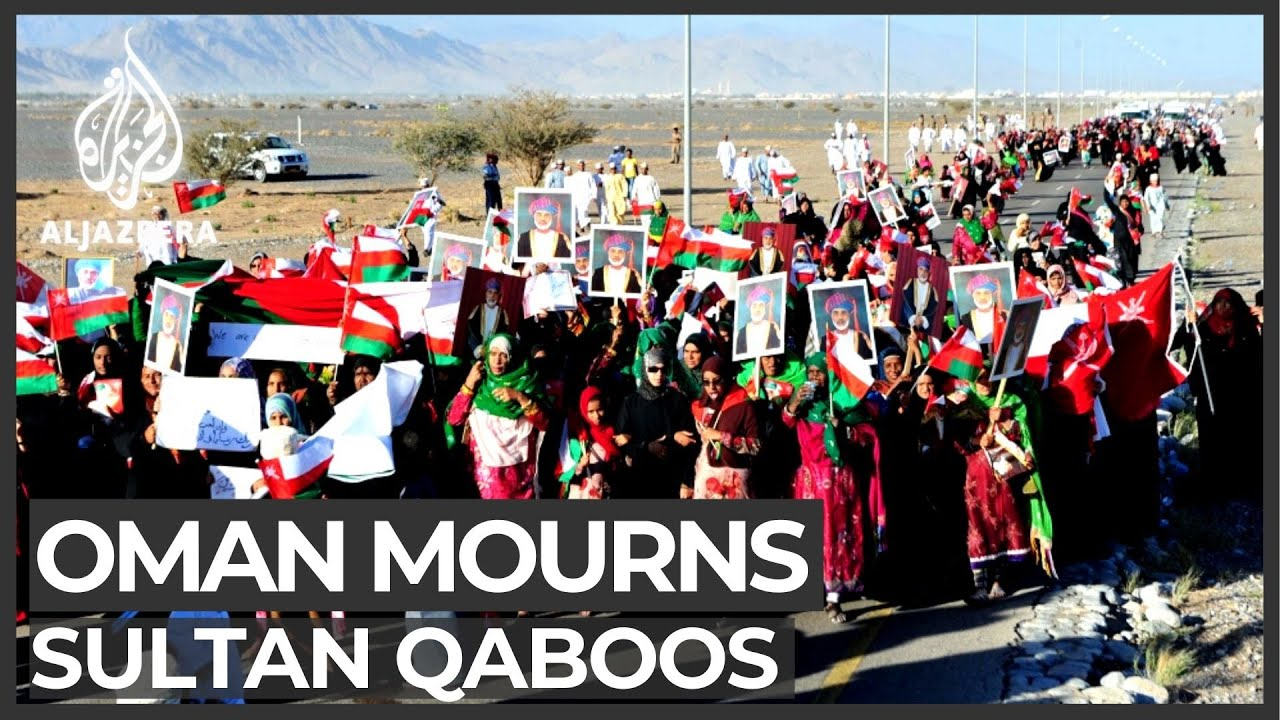 Oman declares three days of mourning for Sultan Qaboos