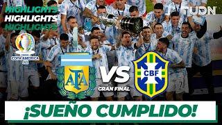 Highlights | Argentina vs Brasil | Copa América 2021 | Gran Final