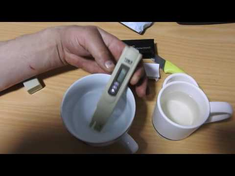 Как измерить соленость воды