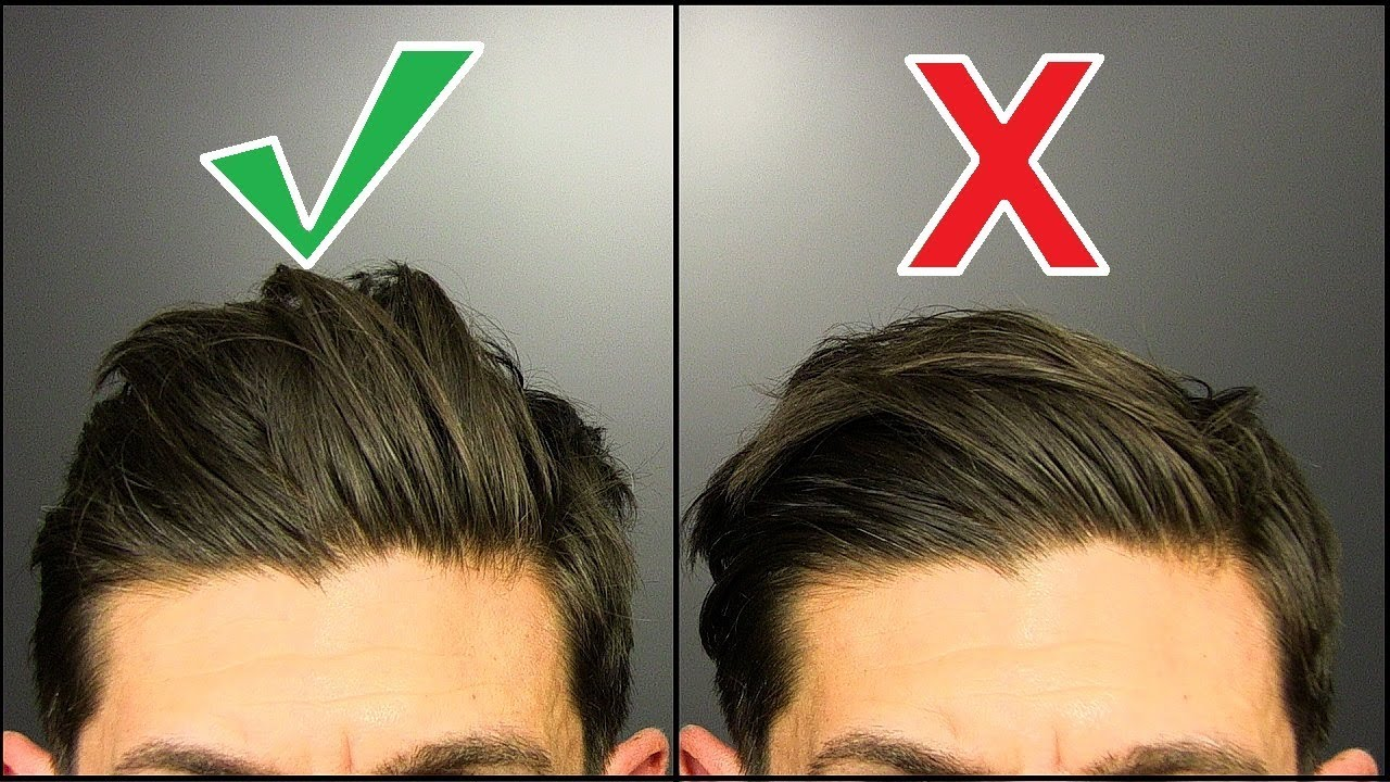 5 Simple Things ANY Guy can do for a BETTER Hairstyle!