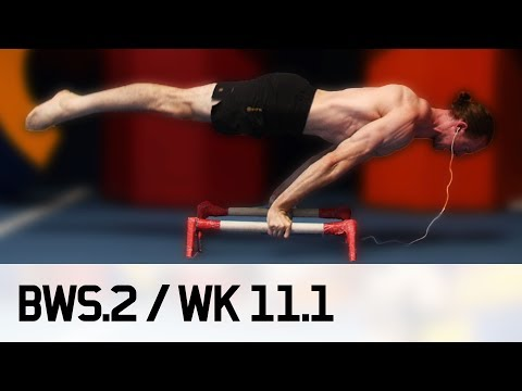 How Olympians taper for MAXIMUM STRENGTH / STRONGER! BWS.2 / Week 11 [1/3]