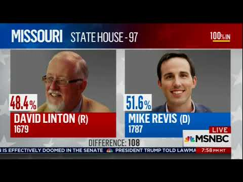 Rachel Maddow cites Daily Kos Elections data